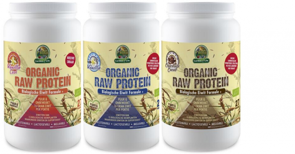 Garden of lIfe organic raw protein