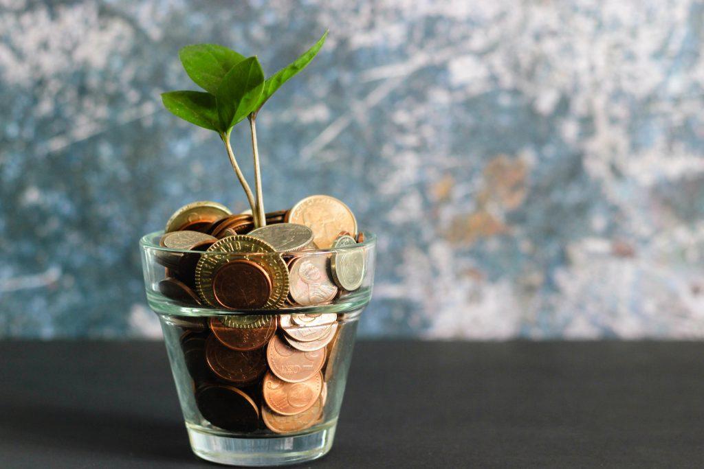 Geld in een potje
