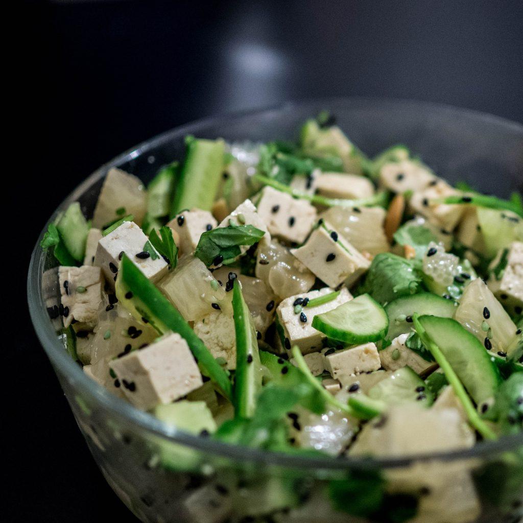 Tofu slaatje
