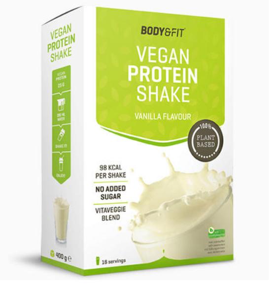 vegan protein shake body& fit