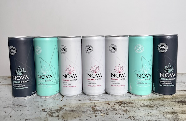 Nova Organic Energy drink