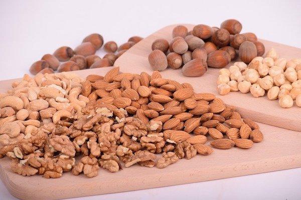Gezonde koolhydraten; noten, zaden, pitten